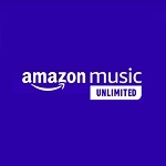 Amazonミュージックアンリミテッドのロゴ